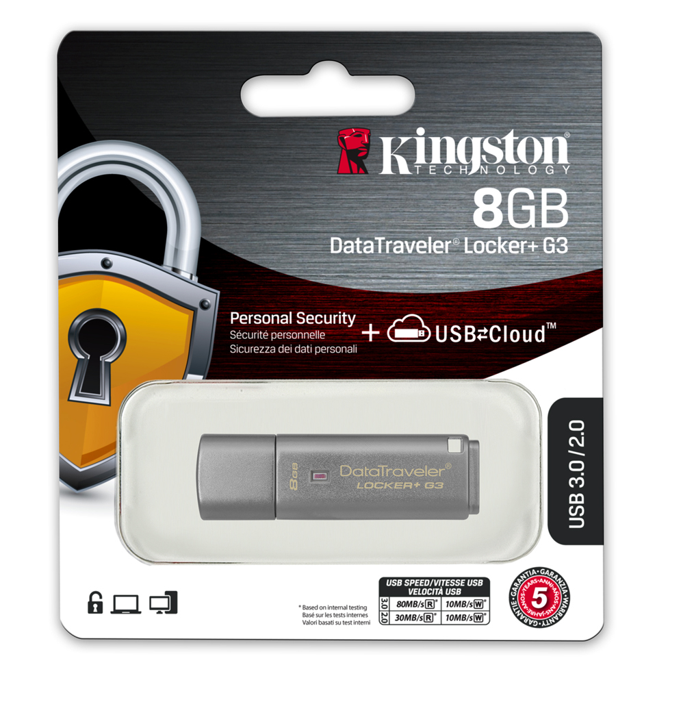 kingston 8gb 16gb 32gb 64gb datalocker g3 encrypted usb. Black Bedroom Furniture Sets. Home Design Ideas