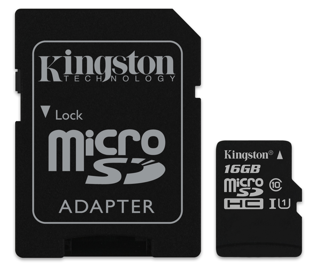 16GB Kingston micro SD HC Memory Card For Alcatel Idol S Mobile Phone 5021000996907